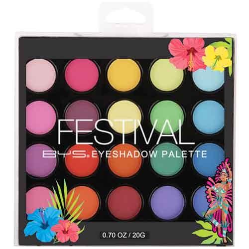 BYS Festival Square Eyeshadow Palette