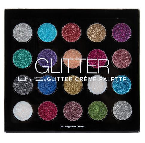 BYS Glitter Creme 20 Piece Palette