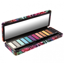 BYS Foiled 12pc Eyeshadow Palette