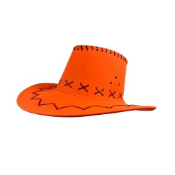Carnival Style Cowboy Hat Orange