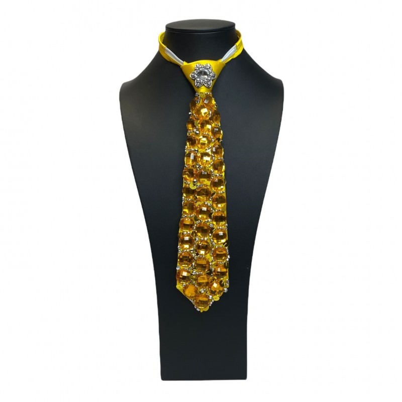 Jewelled Tie Gold