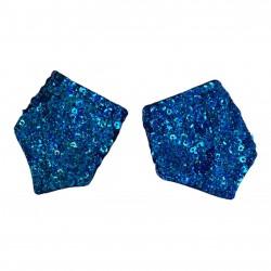 Sequin Cuff Royal Blue