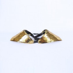 Mirrored Shoulder Pieces Gold