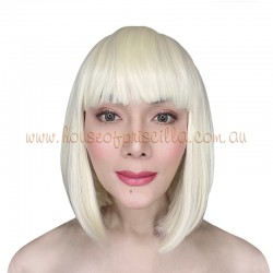 China Blonde Short Synthetic Wig