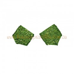 Sequin Cuff Lime Green