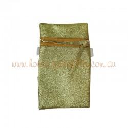 Gold Glitter Phone Purse