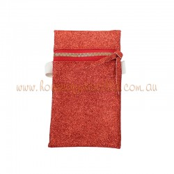 Red Glitter Phone Purse