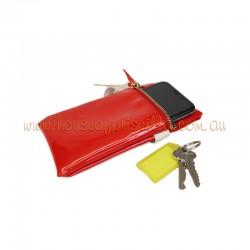 Red Patent Phone Purse