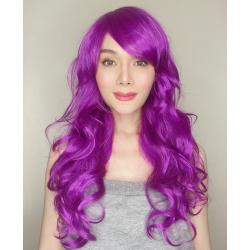 Katy Purple Long Synthetic Wig
