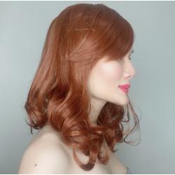 Serena Auburn Long Synthetic Wig