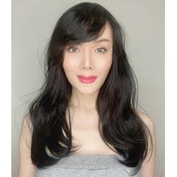 Victoria Black Long Synthetic Wig