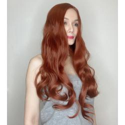 Ally Auburn Long Synthetic Wig