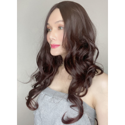 Ally Black Long Synthetic Wig