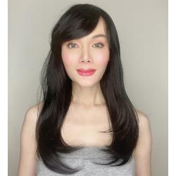 Victoria Dark Brown Long Synthetic Wig