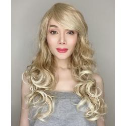 Katy Honey Blonde Long Synthetic Wig