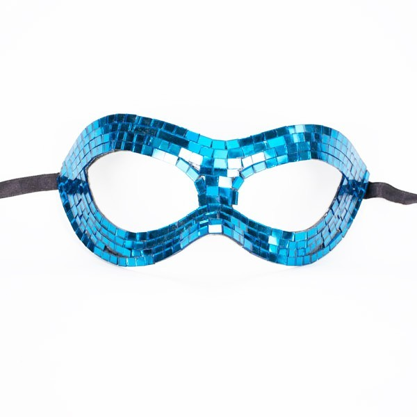 Mirrored Mask Blue