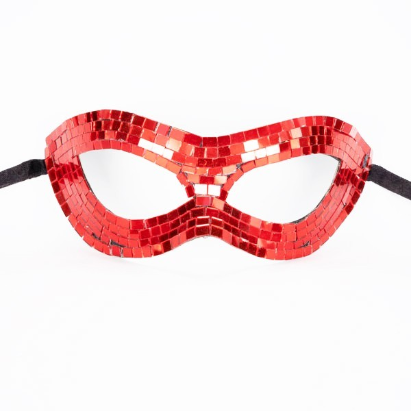 Mirrored Mask Red