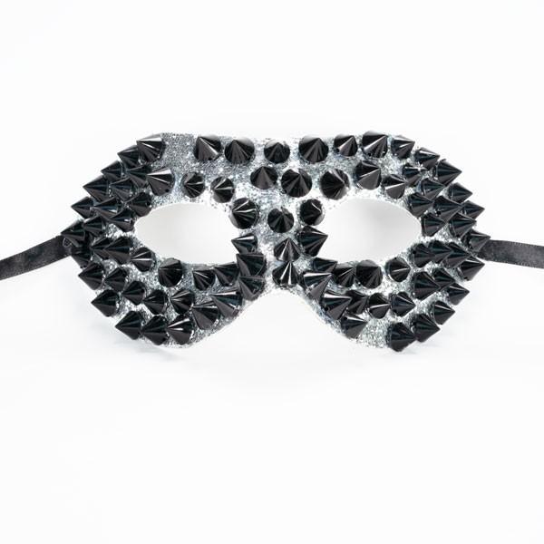 Studded Mask Black