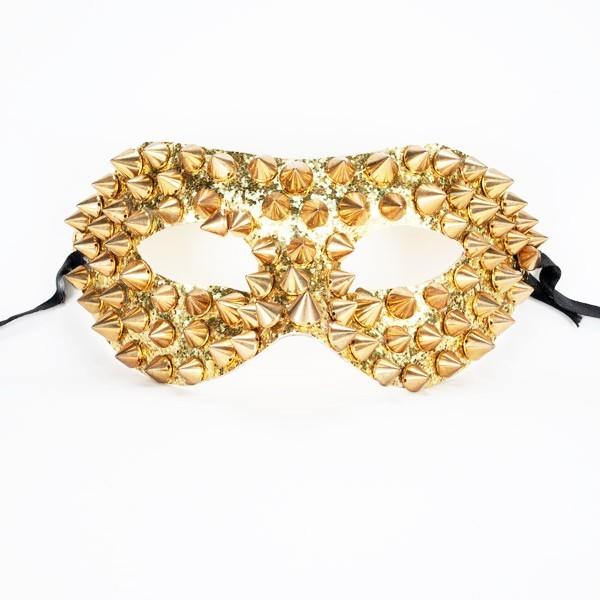 Studded Mask Gold