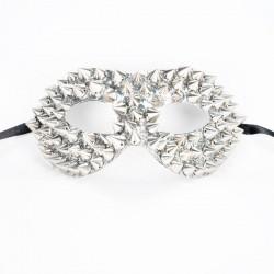 Studded Mask Silver