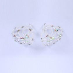 Pearl Diamante Shoulder Piece