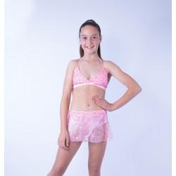 Lace Dance Set - Light Pink - Size 10