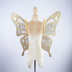 Butterfly Wings 2 Gold and Silver