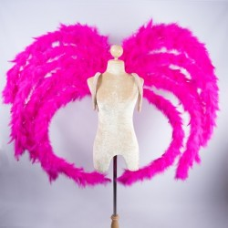 Marabou Feathered Wings