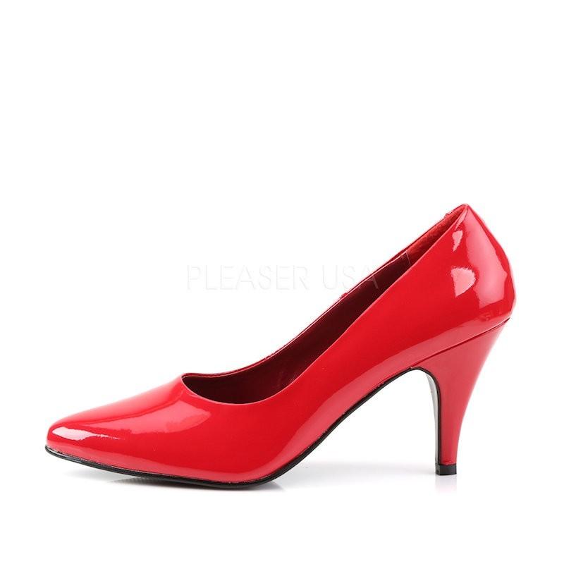 Pump 420 Red Patent Funtasma