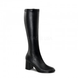 Pleaser Go Go 300 Boot Black PU