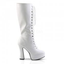 Pleaser Electra 2020 Boot White PU