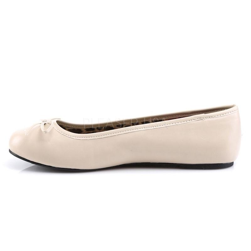 Pink Label Anna 01 Ballet Flat Shoe Beige