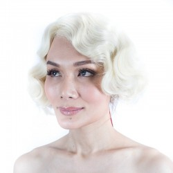 "Short Synthetic Wig ""Gatsby"""