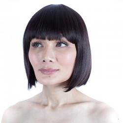 China Black Short Synthetic Bob Wig