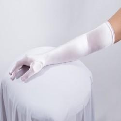 Light Pink Long Satin Glove
