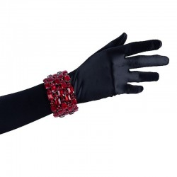 Red Crystal Diamante Bracelet No 2