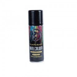 Colour Hair Spray Black