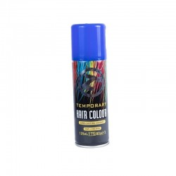 Colour Hair Spray Blue