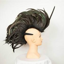 Black Feathered Mohawk