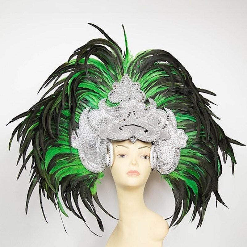 Deluxe Feathered Samba Headpiece