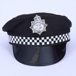 Police Hat UK Style