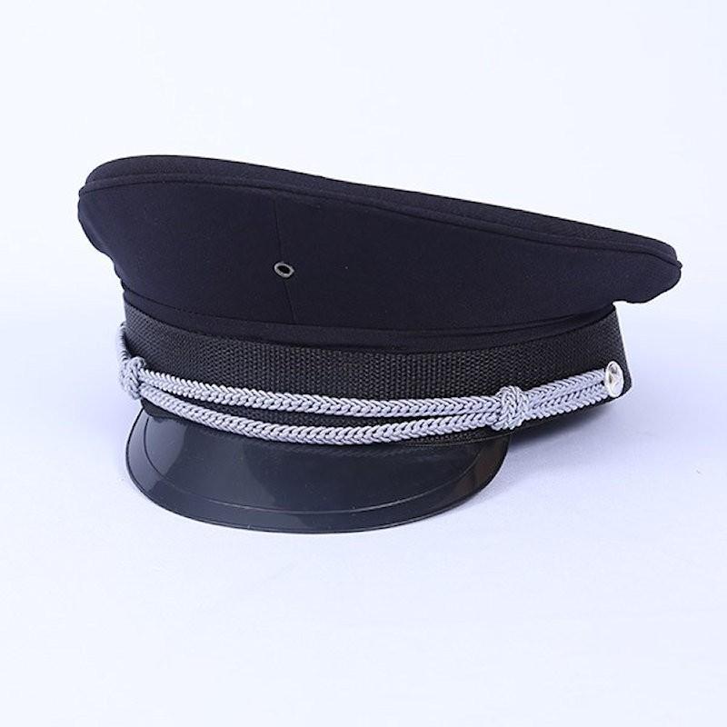 Deluxe Captain Hat Black