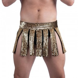 Gladiator Skirt Gold