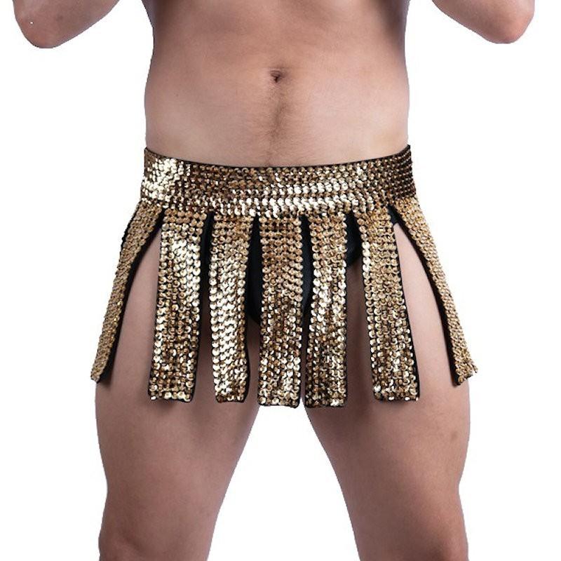 Gladiator Skirt Gold