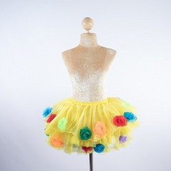Organza Flower Skirt