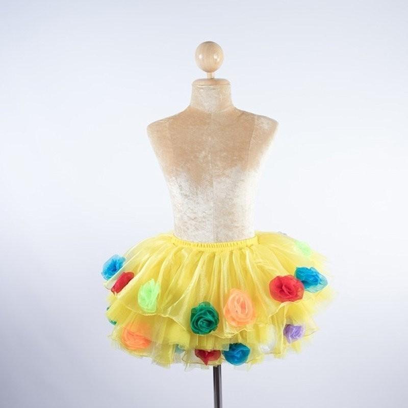 Organza Flower Skirt
