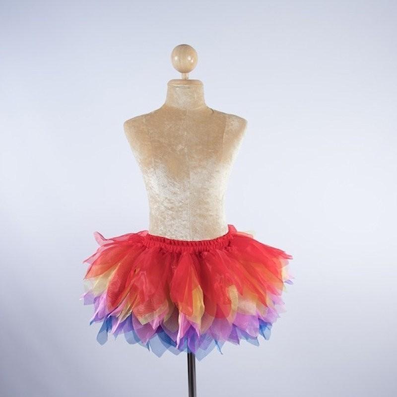 Tinkerbel Organza Skirt Rainbow