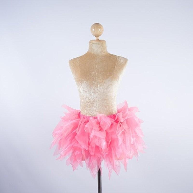 Tinkerbell Crystal Organza Skirt Baby Pink