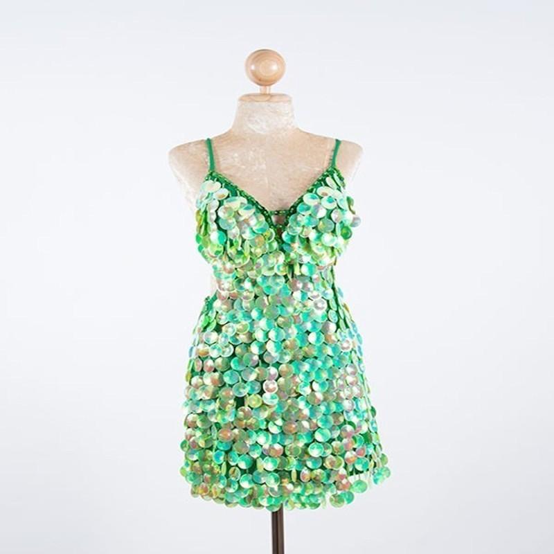 Custom Order Pop Sequin Dress