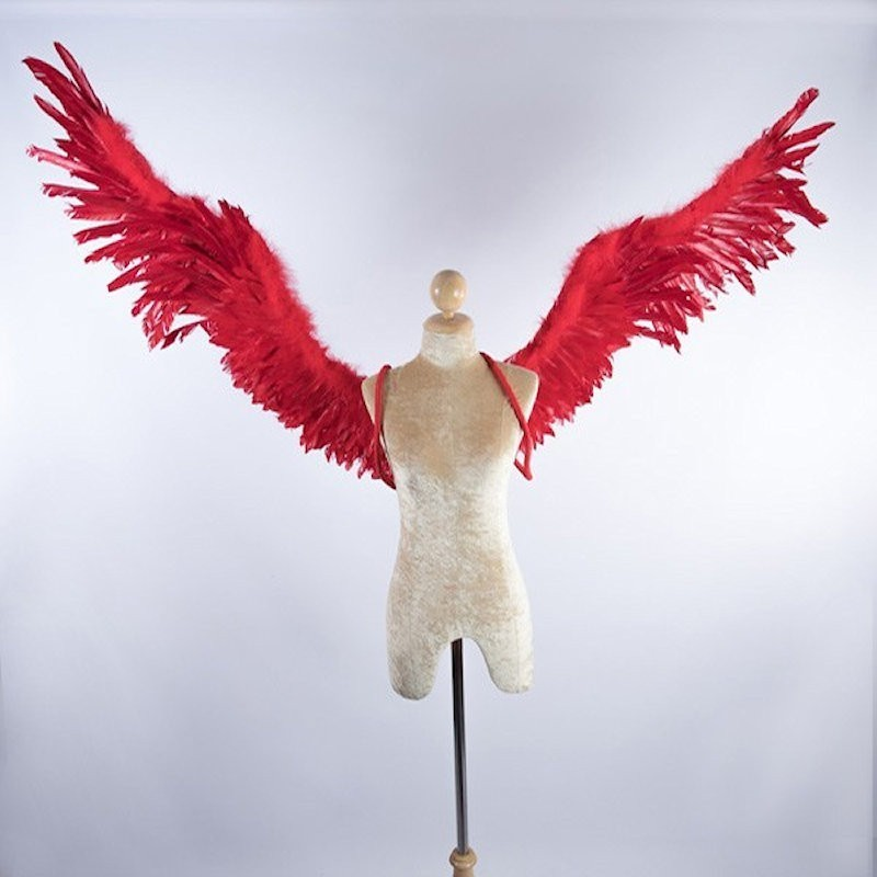 Feathered Wings No 10 Red